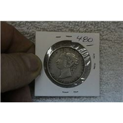 Newfoundland Fifty Cent Coin (1)