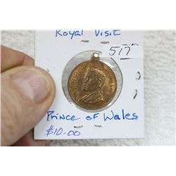 British Royal Medallion