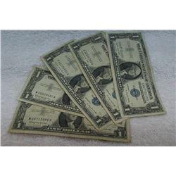 U.S.A. Silver Certificates (5)