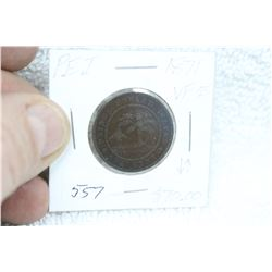 Prince Edward Island One Cent Coin