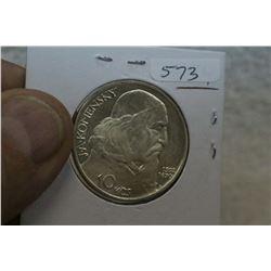Czechoslovakia Coin