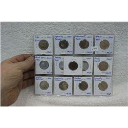 Canada Twenty-five Cent Coins