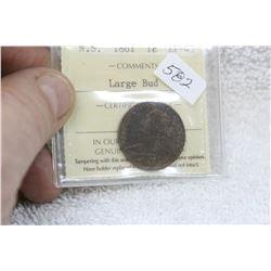 Nova Scotia One Cent Coin