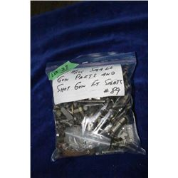 Bag of Misc. Small Gun Parts & Shotgun Front Sights - Looks Like Lots of Screws