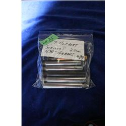 "Bag of 7 - 4 3/4"" Herbert Schmidt 22 cal. Barrels"