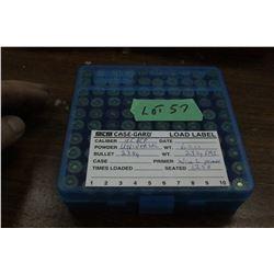 100 Rnds. of 45 ACP, 230 gr., FMJ Reloads