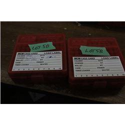 200 Rnds. of 38 Special, 125 gr., FMJ Reloads