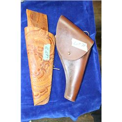 2 Leather Holsters
