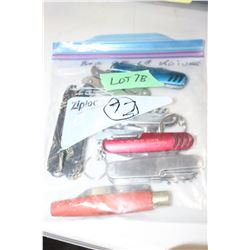Bag of 10 Knives & Multi-Tools