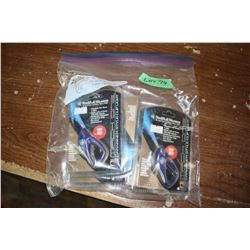 Bag of 6 Smith & Wesson Flashlights