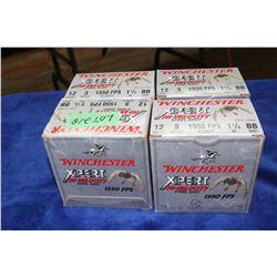 "4 Boxes of Hi Velocity Steel Shot, 12 ga., 3"", BB Short, 1550 FPS"