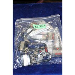 Bag of 6 Ruger Gun Locks with Keys