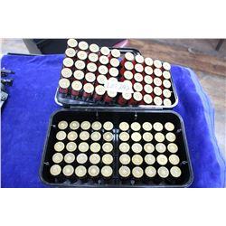 Case Guard Box of 100 Shot Gun Ammo, .50, 12 ga., Imperial #6 Shot, 50 Winchester #2 Shot