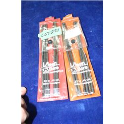 2 Pkgs. of Gun Cleaning Rods