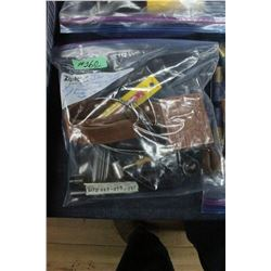 Bag of Hand Gun Parts & Scope Mounts