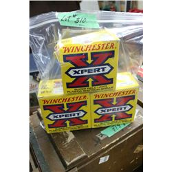 "2 1/2 Boxes of 12 ga., 2 3/4"" Heavy Load #4 Shot"