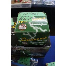 Box of 500 - 22 Thunderbolt Long Rifle