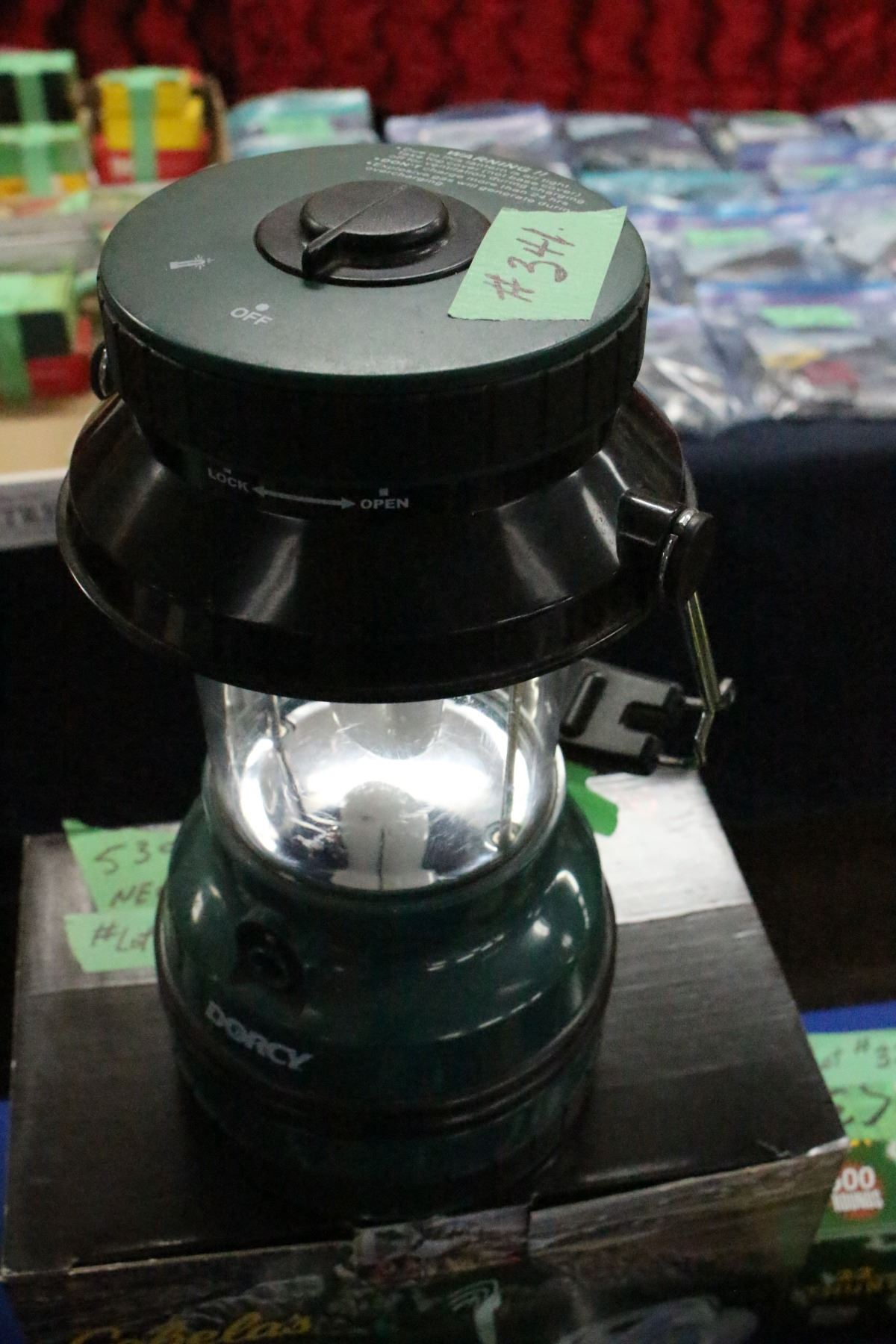 Dorcy Battery Lantern - Battery can be charged  Working unit