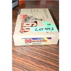 Full Box of Hornady 338 LAPUA, 285 Gr BTHP Factory Ammo