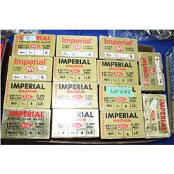 "14 Boxes of Imperial 12 ga., 2 3/4"" - #4 & 1 - #5 Shot"