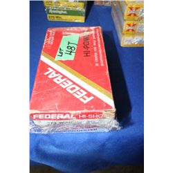 2 Boxes of Federal 270 Winchester Factory 130 gr.