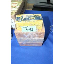 4 Boxes of 38 cal., 158 gr. Factory Ammo