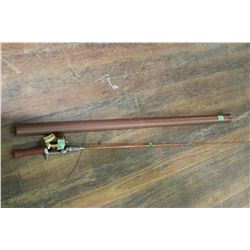 Bronson Reel & Rod and a Browning Tubular Case