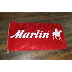 Red/White Marlin Banner