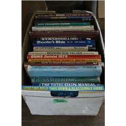 Box of 21 Hunting Books