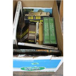 Box of 15 Books on African Wildlife