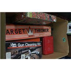 Box w/Target Thrower, 3 Cleaning Kits & a Game