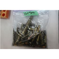 Bag of Collector Ammo & Brass:  44-40; 30-40 & 38-56