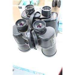 2 prs of Binoculars - Bell & Howell & Bushnell