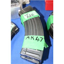 3 AK47 Magazines - Pinned at 5 Rnds