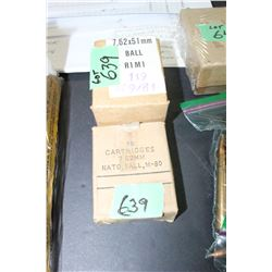 NATO Ball Ammo - 7.62 x 51, 2 Boxes - 30 Rnds