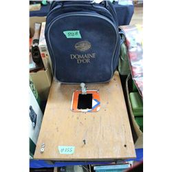 Pellet Gun Target Box & Bag w/Camping Dish Set