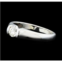0.30 ctw Diamond Solitaire Ring - 14KT White Gold