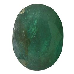 3.85 ctw Oval Emerald Parcel