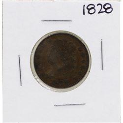 1826 13 Stars Draped Bust Half Cent Coin