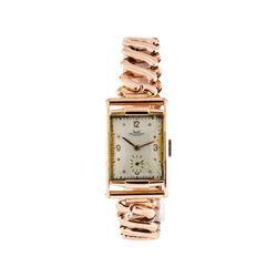 Solvil Paul Ditisheim Wrist Watch - 14KT Rose Gold