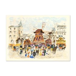 Moulin Rouge by Huchet, Urbain