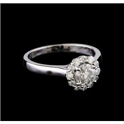 0.99 ctw Diamond Ring - 14KT White Gold