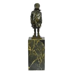 Boy Bronze Sculpture
