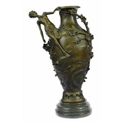 Beautiful Vase Bronze Sculpture