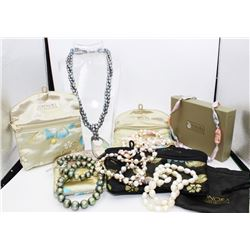 HONORA COLLECTION LOT OF PEARL NECKLACES