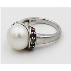 HONORA COLLECTION .925 CULTURED PEARL RING HONORA COLLECTION STERLING SILVER CULTURED PEARL RING. SI