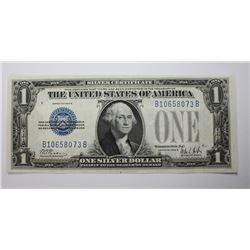 1928 A $1.00 SILVER CERT.  FUNNY BACK  GEM UNC. 1928 A $1.00 SILVER CERTIFICATE  FUNNY BACK  GEM UNC