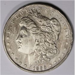 1895-O MORGAN SILVER DOLLAR AU KEY COIN 1895-O MORGAN SILVER DOLLAR AU KEY COIN. ESTIMATE: $900-$120