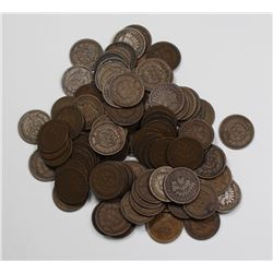 100 CIRCULATED & UNSEARCHED INDIAN CENTS 100 CIRCULATED & UNSEARCHED INDIAN CENTS. ACME TO US IN A L