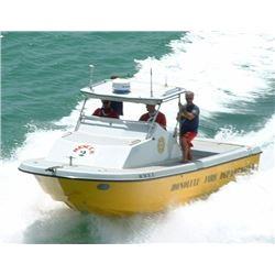 "2000 Radon 22"" Boat -Former Honolulu Fire Dept Rescue 2 (Built By Don Radon)"